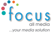 Logo Focus All media webdesign East sussex