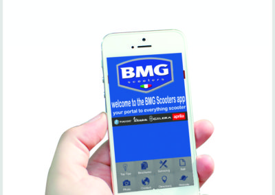 BMG Scooters Mobile App Development