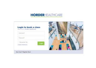 Horder Healthcare Application Development