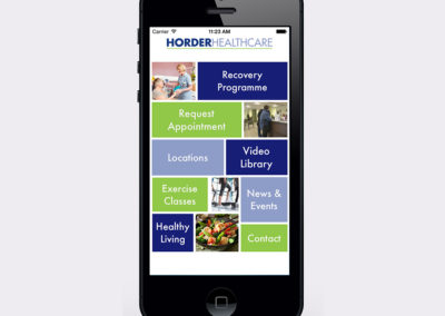Horder Healthcare Mobile App Development