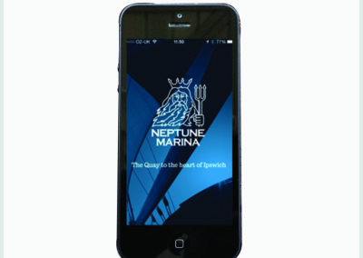 Neptune Marina Mobile App Development