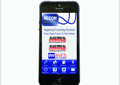 Recon Electrical Mobile App Development